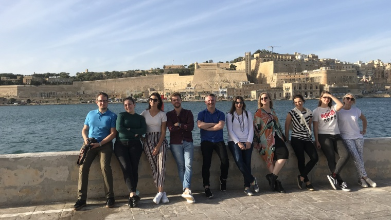 Fam trip to Malta with Oswald Arrigo DMC