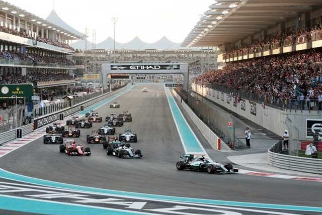 Gulf Dunes DMC invites you to F1 to Abu Dhabi