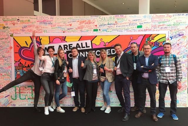 Polhotrep natargach Imex 2019 zgrupą Hosted Buyers