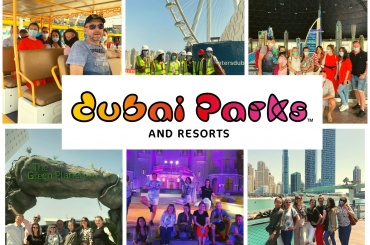 Fam trip to Dubai Parks and Resorts